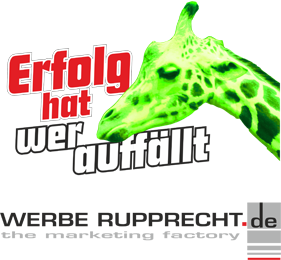 Logo Werbe Rupprecht Giraffe